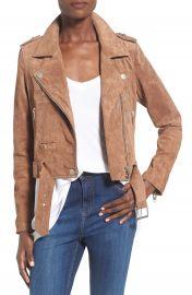 BLANKNYC Morning Suede Moto Jacket at Nordstrom