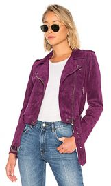 BLANKNYC Suede Moto Jacket in Ursula from Revolve com at Revolve