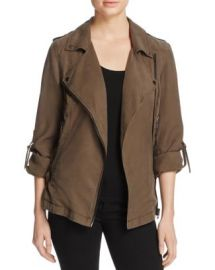 BLANKNYC Woven Moto Jacket - 100  Bloomingdale  039 s Exclusive at Bloomingdales