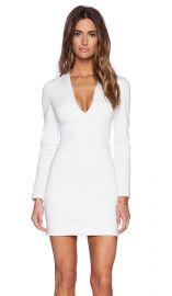 BLAQUE LABEL Long Sleeve Mini Dress in Ivory  REVOLVE at Revolve
