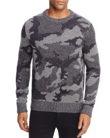 BOSS Orange Armieto Camouflage Sweater at Bloomingdales