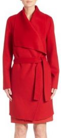 BOSS Catifa Wool-Cashmere Coat at Saks Fifth Avenue