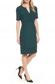 BOSS Dalesana Sheath Dress  Regular   Petite at Nordstrom