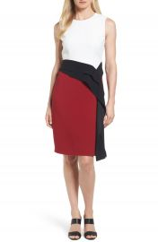 BOSS Disalana Color Block Sheath Dress at Nordstrom