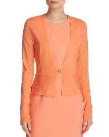 BOSS Feline Peplum Cardigan at Bloomingdales
