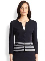 BOSS HUGO BOSS - Jeisina Peplum Jacket at Saks Fifth Avenue