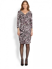 BOSS HUGO BOSS - Printed Jersey Dress at Saks Fifth Avenue
