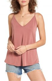BP  Double V Swing Camisole in Pink Mauve at Nordstrom