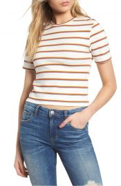 BP  Stripe Crop Tee at Nordstrom