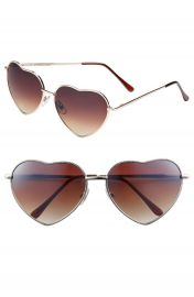 BP  Heart Shaped 58mm Sunglasses at Nordstrom