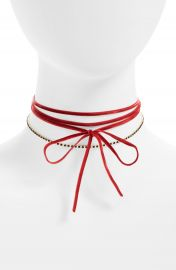BP  Velvet Wrap Choker at Nordstrom