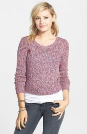 BP Marled Crop Pullover at Nordstrom