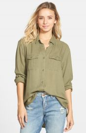 BP Military Shirt in Olive at Nordstrom