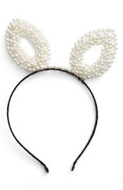 BP Pearly Bunny Ear Headband at Nordstrom