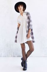 Babydoll shirtdress at Urban Outfitters