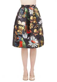 Back on Tropic Skirt at ModCloth