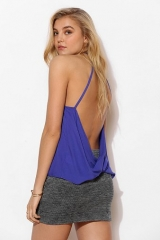 Backless surplice tank top by Silence and Noise at Urban Outfitters