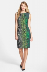 T Tahari Lucille Print Sheath at Nordstrom