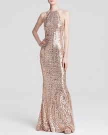 Badgley Mischka Gown - Sequin at Bloomingdales