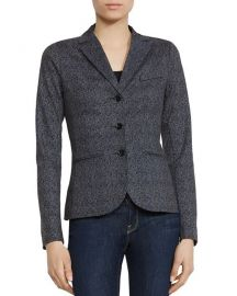 Bailey 44 Black Op Brushed Herringbone Ponte Blazer at Bloomingdales