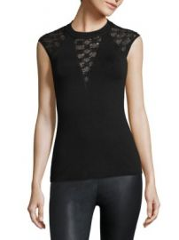 Bailey 44 - Yuca Crochet Inset Top at Saks Fifth Avenue
