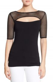 Bailey 44  Northern Circuit  Mesh Cutout Top at Nordstrom