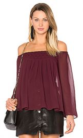 Bailey 44 Helena Top in Berry from Revolve com at Revolve
