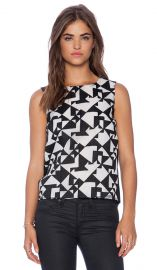 Bailey 44 Jigsaw Top in Black  REVOLVE at Revolve