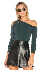 Bailey 44 Night Terror Long Sleeve Top in Pine from Revolve com at Revolve