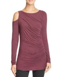 Bailey 44 Savy Cold Shoulder Top in Plum at Bloomingdales