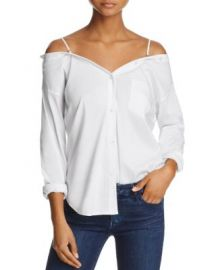 Bailey 44 Stoked Cold-Shoulder Shirt at Bloomingdales