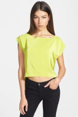 Bailey 44 Third Rail Silk Front Crop Top at Nordstrom Rack