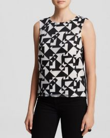 Bailey 44 Top - Jigsaw Print at Bloomingdales