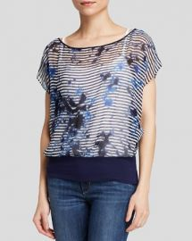 Bailey 44 Top - Sea Breeze Printed Silk at Bloomingdales