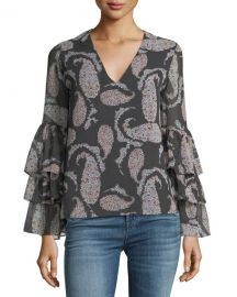 Bailey 44 Top Billing V-Neck Blouse   Neiman Marcus at Neiman Marcus