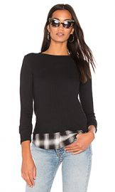Bailey 44 Tour de Force Top in Black  amp  Black from Revolve com at Revolve