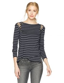 Bailey 44 Women s rowboat Stripe Top at Amazon
