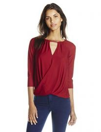 Bailey 44 Womenand39s Lisianthus Draped Top at Amazon