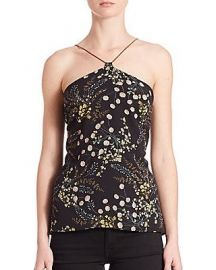 Bailey 44 botanical Chain Halter Top at Saks Fifth Avenue