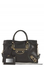 Balenciaga Small Classic Metallic Edge City Leather Tote at Nordstrom