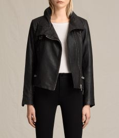Bales Leather Biker Jacket at All Saints