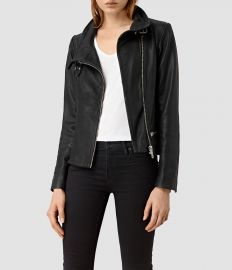 Bales leather jacket at All Saints