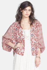 Balloon sleeve jacket by Free People at Nordstrom Rack