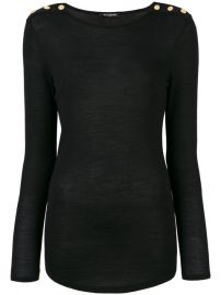Balmain Button-embellished Sweater  720 - Buy Online AW17 - Quick Shipping  Price at Farfetch