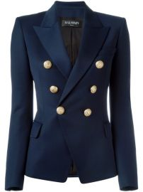 Balmain Double Breasted Blazer  2 210 - Buy Online SS18 - Quick Shipping  Price at Farfetch