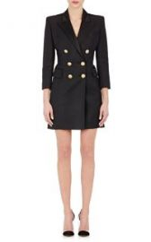 Balmain Double-Breasted Coatdress at Barneys