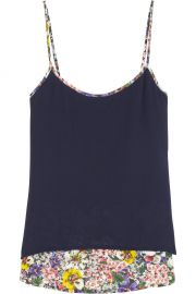 Band of Outsiders Floral Camisole at Net A Porter