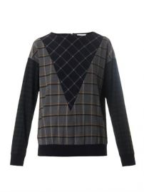 Band of Outsiders Hunter Check Sweatshirt at Matches