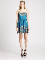 Bandana Print Blindfold Dress by Nanette Lepore at Saks Fifth Avenue