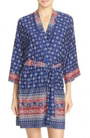 Bandana print robe by In Bloom at Nordstrom
